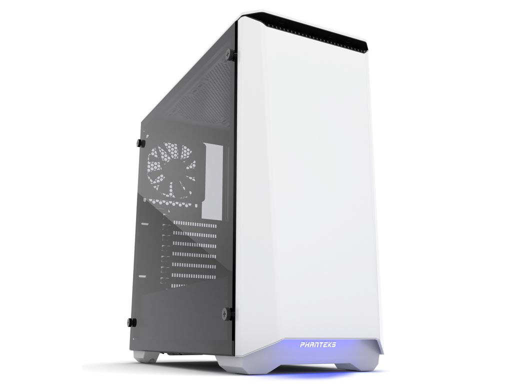Phanteks Eclipse P400S Windowed Mid-Tower Case Tempered Glass - White / Black