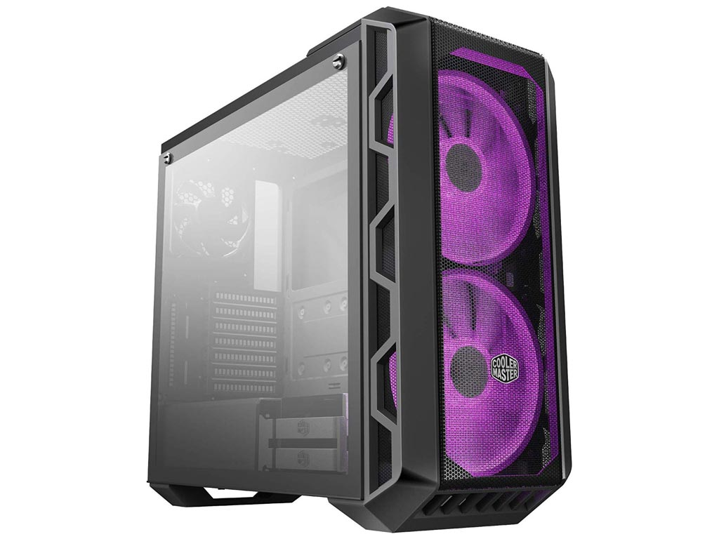Cooler Master MasterCase H500 RGB Windowed Mid-Tower Case Tempered Glass - Iron Grey