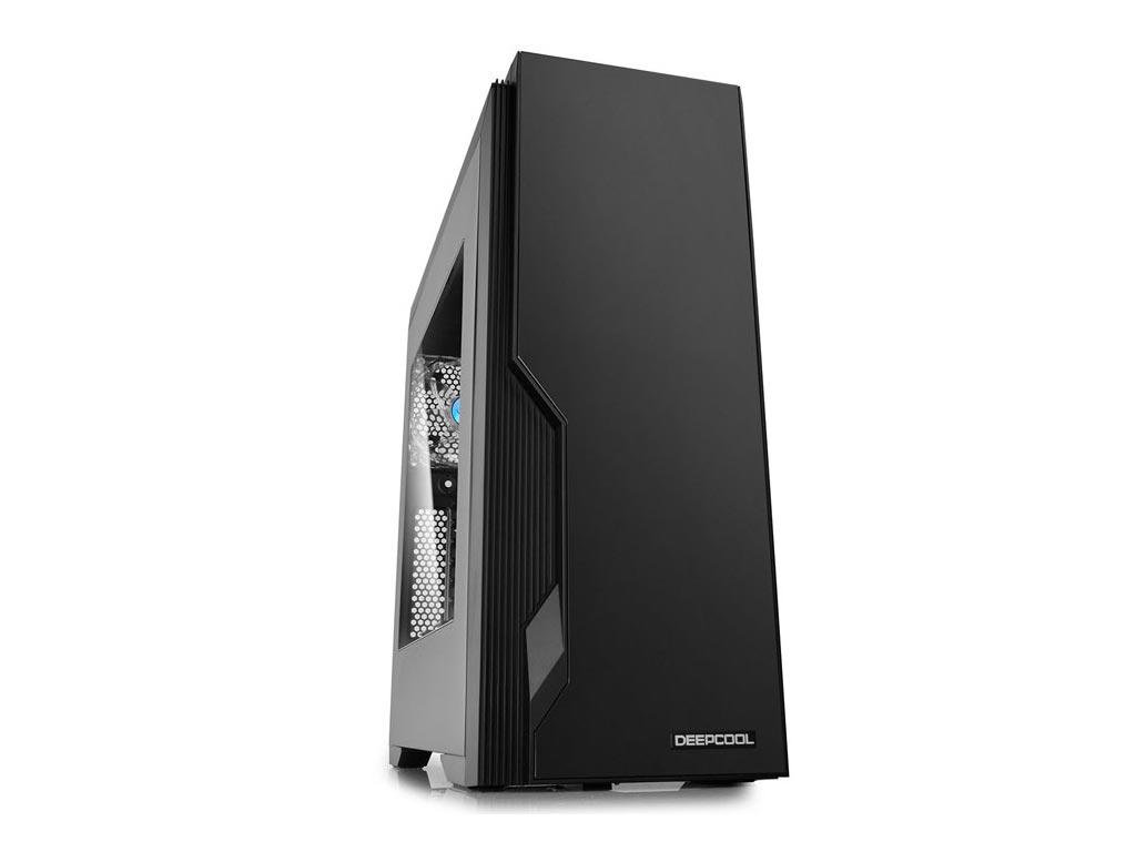 Deepcool Dukase V3 Windowed Mid-Tower Case - Black