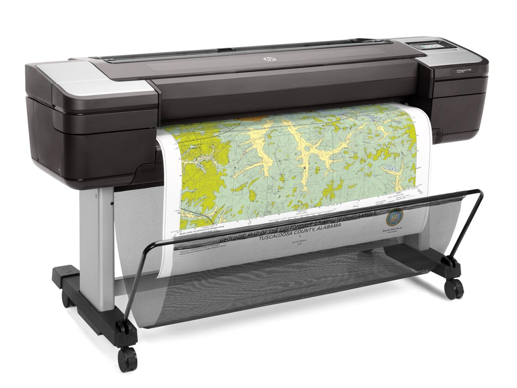 Plotter DesignJet T1700 ePrinter 44-in