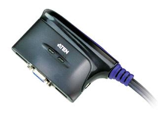 Aten KVM 2 Port USB Switch With Audio [CS62U] Εικόνα 1