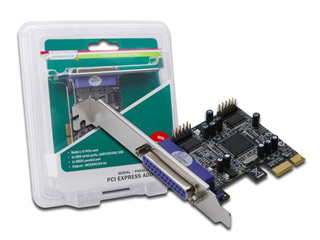 Digitus PCIe 2x Serial / 1x Parallel Interface Card [DS-30040] Εικόνα 1