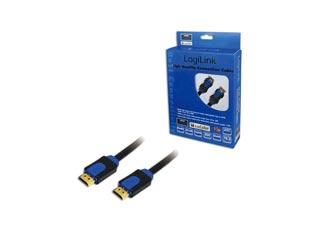 LogiLink Καλώδιο HDMI (Male σε Male) 5m [CHB1105] Εικόνα 1