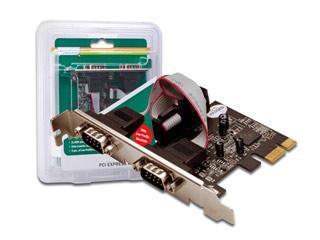 Digitus PCIe Serial interface card, 2x DSUB9 [DS-30000-1] Εικόνα 1