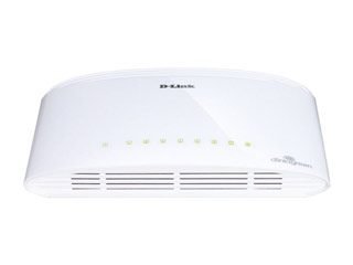 D-Link 8-port 10/100/1000 Gigabit Ethernet Switch [DGS-1008D] Εικόνα 1