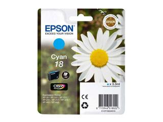 Epson T1802 Cyan [C13T18024010] Εικόνα 1