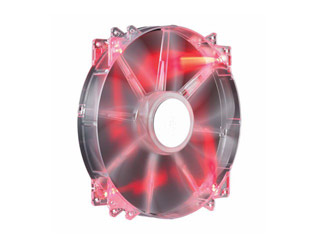 Cooler Master Fan MegaFlow 200 Red Led 200x200x30mm [R4-LUS-07AR-GP] Εικόνα 1
