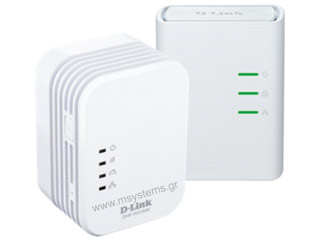 D-Link PowerLine AV 500 Wireless N Mini Starter Kit [DHP-W311AV] Εικόνα 1