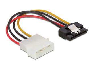 Delock SATA Power Cable - Molex 4-pin 1x M - SATA 15-pin Connector [60120] Εικόνα 1