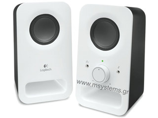 Logitech Z150 Speakers White [980-000815] Εικόνα 1
