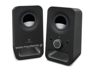 Logitech Z150 Speakers Black [980-000814] Εικόνα 1