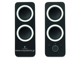 Logitech Z200 Multimedia Speakers (Black) [980-000810] Εικόνα 1