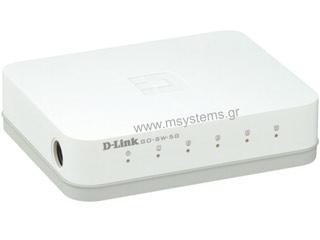 D-Link 5-Port 10/100/1000 Gigabit Switch [GO-SW-5G] Εικόνα 1