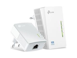 Tp-Link PowerLine AV 600 Wireless Extender Starter Kit V4.1 - Starter Kit [TL-WPA4220KIT] Εικόνα 1