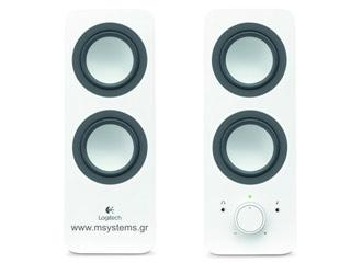 Logitech Z200 Multimedia Speakers (White) [980-000811] Εικόνα 1