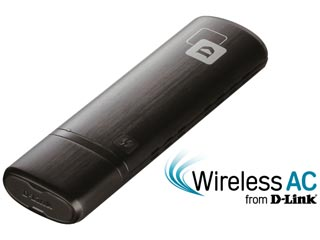 D-Link Wireless AC Dual Band USB Adapter [DWA-182] Εικόνα 1