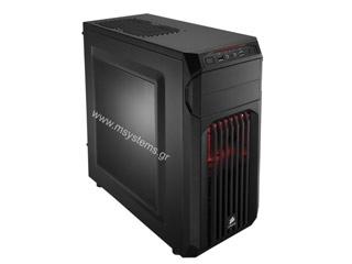 Corsair Carbide Series SPEC-01 Red LED Mid-Tower Gaming Case - Black [CC-9011050-WW] Εικόνα 1