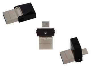 Kingston DataTraveler microDUO 3.0 USB Flash - 32GB [DTDUO3/32GB] Εικόνα 1