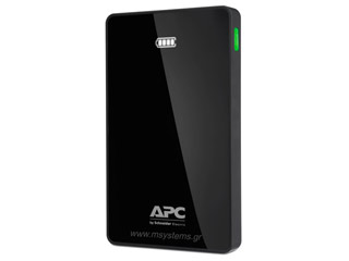 APC M10 Mobile Power Bank Charger - 10000mAh - Black [M10BK-EC] Εικόνα 1