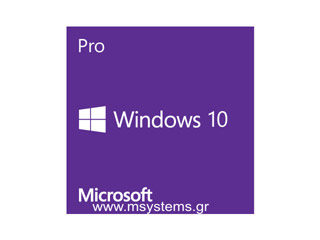 Microsoft DSP Windows 10 Professional 32-bit Greek [FQC-08963] Εικόνα 1