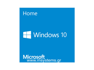 Microsoft DSP Windows 10 Home 32-bit Greek [KW9-00179] Εικόνα 1