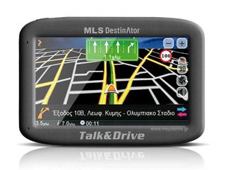 MLS Destinator Talk and Drive 433 - Greece/Cyprus Maps  Εικόνα 1