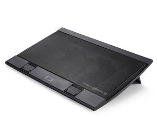 Deepcool Notebook Cooling Pad Wind Pal FS - Black [DP-N222-WPALFS] Εικόνα 1