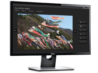 Dell SE2416H Monitor Full HD 23.8¨ Wide LED IPS [210-AFZC] Εικόνα 1