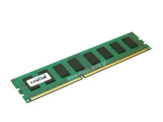 Crucial 4GB DDR3L 1600MHz Dual Rank Non-ECC CL11 [CT51264BD160B] Εικόνα 1