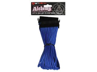 Bitfenix Alchemy 24Pin ATX Extension Cable 30cm - blue/black Εικόνα 1