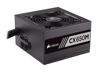 Corsair CX Series CX650M Builder 650W Bronze Rated Power Supply [CP-9020103-EU] Εικόνα 1