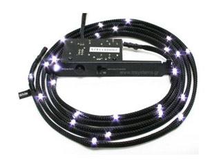 NZXT Sleeved Led Light Kit - 12 LEDs - White [CB-LED10-WT] Εικόνα 1