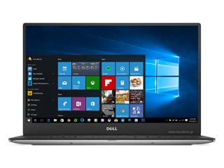 Dell XPS 13 (9360) UltraBook - i7-7500U - 8GB - 256GB SSD - Win 10 Pro - Silver [9360-0290E] Εικόνα 1