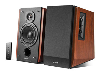 Edifier R1700BT Bluetooth Speakers - Wood Εικόνα 1