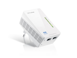 Tp-Link PowerLine AV 600 Wireless Extender V4.0 - Single Adapter [TL-WPA4220] Εικόνα 1