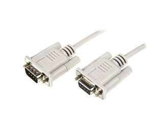 Roline Serial DB9-M to DB9-F cable 1,8m [11.01.6218] Εικόνα 1