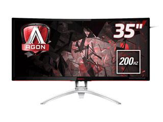 AOC AGON AG352QCX WQHD 35¨ Wide Curved - 200Hz - AMD FreeSync Εικόνα 1