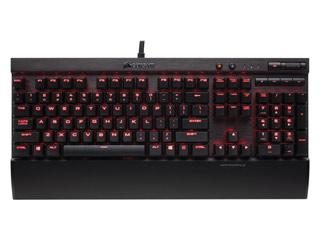Corsair K70 LUX Red LED Mechanical Gaming Keyboard - Cherry MX Red [CH-9101020-NA] Εικόνα 1