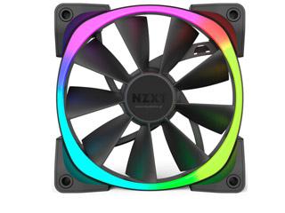 NZXT Aer RGB 140mm Airflow Fan [RF-AR140-B1] Εικόνα 1