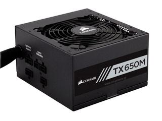 Corsair TX-M Series TX650M 650W Gold Rated Power Supply [CP-9020132-EU] Εικόνα 1