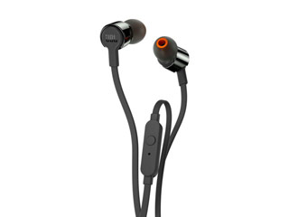 JBL T210 Earphones - Black [JBLT210BLK] Εικόνα 1