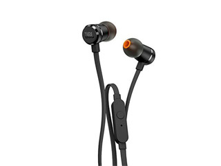 JBL T290 Earphones - Black [JBLT290BLK] Εικόνα 1