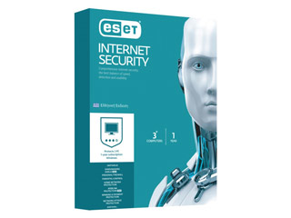 ESET Internet Security ( 3 ανεξάρτητες άδειες χρήσης / 1 έτος ) Retail [EIS_3U1Y3D] Εικόνα 1