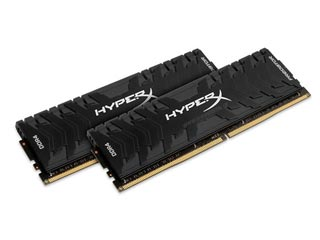 HyperX 32GB Predator DDR4 2666MHz Non-ECC CL13 (Kit of 2) [HX426C13PB3K2/32] Εικόνα 1