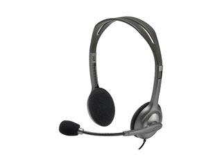 Logitech Stereo Headset H111 [981-000593] Εικόνα 1