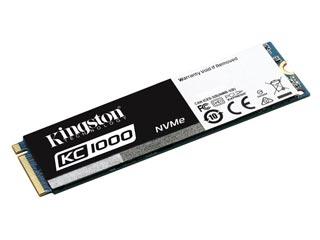 Kingston 480GB KC1000 NVMe M.2 PCI-Express [SKC1000/480G] Εικόνα 1