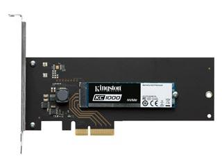 Kingston 240GB KC1000 NVMe PCI-Express with HHHL adapter [SKC1000H/240G] Εικόνα 1