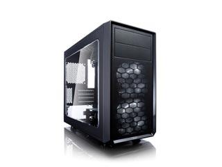 Fractal Design Focus G Windowed Mini - Tower Case - Black [FD-CA-FOCUS-MINI-BK-W] Εικόνα 1