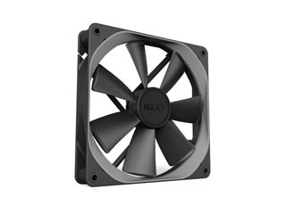 NZXT Aer P 120mm Static Pressure Fan - Black [RF-AP120-FP] Εικόνα 1