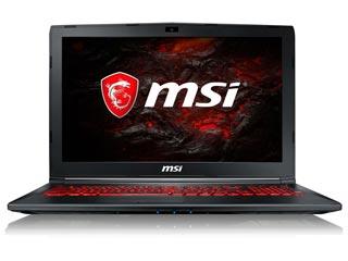 MSI Notebook i5-7300HQ - 8GB - 1TB - GTX 1050 2GB - Win 10 [GL62M 7RDX-1446NL] Εικόνα 1